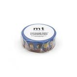 カモ井 mt Peanuts 15mm MTPNUT01 みんなでおしゃべり│シール マスキングテープ