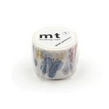 カモ井 mt×ミナペルホネン(mina perhonen) 35mm MTMINA41 flutter│シール マスキングテープ