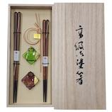 カワイ 春日傘×千金箸置き揃え