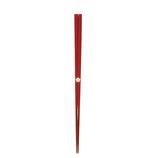若狭塗 にっぽん伝統色箸 23cm 古代朱