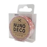 KAWAGUCHI ヌノデコテープ うすべに水玉│手芸・洋裁用品 装飾用品