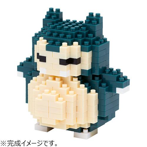 カワダ ナノブロック NBPM-012 ポケットモンスター カビゴン│パズル 立体パズル