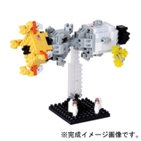カワダ ナノブロック 月着陸への挑戦 NBH084