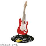 カワダ ペーパーナノ PN-036 エレキギター レッド│工作用品 工作キット