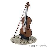 カワダ ペーパーナノ PN-037 バイオリン│工作用品 工作キット