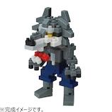 カワダ ナノブロック 狼男│パズル 立体パズル