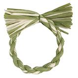 【年賀用品】カサハラ 紙製リースベース マーブルグリーン 直径15cm 1891109