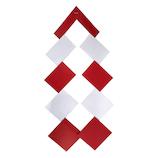 【年賀用品】カサハラ 紅白御幣 特豆 2組 袋入 0120922