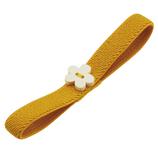 スケーター 木製マスコット付ランチベルト KVW1 花・オレンジ