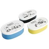 スケーター(SKATER) シール容器 3Pセット SRS3S ピーナッツライフスタイル│お弁当箱 弁当箱