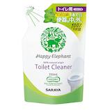 ハッピーエレファント トイレクリーナー 詰替 350mL│トイレ掃除用品 トイレ用洗剤・便座クリーナー