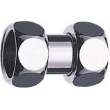 サンエイ 両ナット付アダプター PT83−13│配管部品材料・水道用品 水道蛇口・水栓金具