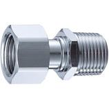 サンエイ 片ナット付アダプター PT84−13│配管部品材料・水道用品 水道蛇口・水栓金具
