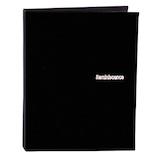 セキセイ レミニッセンス ミニポケットアルバム カードサイズ XP‐80C‐60 ブラック│アルバム・フォトフレーム ポケットアルバム