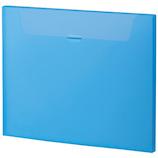 セキセイ ムービーキャリーファイル A4 MV‐515F ブルー│ファイル ケースファイル