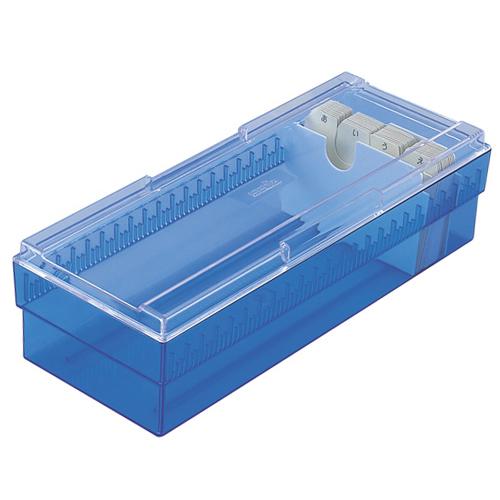 セキセイ ネームカードボックス 700名用 CB−700 クリアブルー