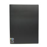 セキセイ スーパークリアホルダ A3-S_タテ入れ_12ポケット SCH−70 ブラック│ファイル クリアホルダー