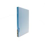 セキセイ 高透明フォトアルバム 2L80 KP−80G ブルー