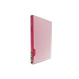 セキセイ 高透明フォトアルバム 2L80 KP−80G ピンク
