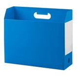 セキセイ ボックスファイル ヨコ AD−2651 ブルー