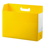 セキセイ ボックスファイル ヨコ AD−2651 イエロー