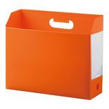 セキセイ ボックスファイル ヨコ AD−2651 オレンジ