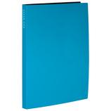 セキセイ 高透明クリヤーファイル 40P KP−2514 ブルー