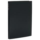 セキセイ 高透明クリヤーファイル 40P KP−2514 ブラック