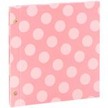 セキセイ ハーパーハウス カジュアルアルバム ドット フリー台紙タイプ XP−4310PK ピンク