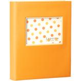 セキセイ ポケットアルバム 80P LA−3780 オレンジ
