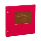 セキセイ ライトフリーアルバム XP−5308 レッド
