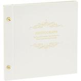 セキセイ ハーパーハウス ライトフリーアルバム シャイニー XP−5408 ホワイト