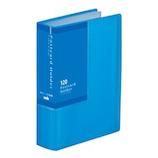 セキセイ はがきホルダー 高透明 A6 SKK−120K ブルー│ファイル はがきファイル