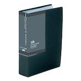 セキセイ はがきホルダー 高透明 A6 SKK−120K ブラック│ファイル はがきファイル