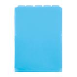 セキセイ アフティフ 5インデックスフォルダー A4 タテ ACT−915 ブルー