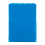 セキセイ アフティフ 5インデックスフォルダー A4 タテ ACT−915 コバルトブルー│ファイル クリアホルダー