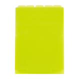 セキセイ アフティフ 5インデックスフォルダー A4 タテ ACT−915 ライトグリーン│ファイル クリアホルダー