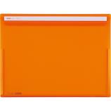 セキセイ アクティフV フリップファイル A4 ヨコ ACT‐5901‐51 オレンジ│ファイル ケースファイル