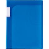 セキセイ アクティフV 14ポケットフォルダー A4 ACT‐5914‐14 コバルトブルー│ファイル レール式・挟み込みファイル