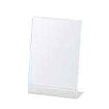 セキセイ サインスタンド 片面用 A6縦置き SSD−2733│展示・ディスプレイ用品 カタログスタンド