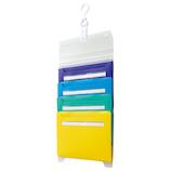 セキセイ スライドドキュメント A4 4ポケット AD‐3702 クールカラー│ファイル ケースファイル