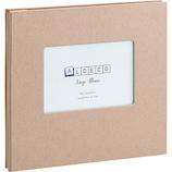 セキセイ スクラップアルバム ALDECOミニ XP‐3708 クラフト│アルバム・フォトフレーム アルバムデコレーション