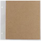 セキセイ スクラップアルバム ALDECOミニ用 スペア台紙 XP‐38P クラフト 5枚入│アルバム・フォトフレーム アルバムデコレーション