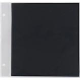 セキセイ スペア台紙アルデコミニ XP‐38P ブラック 5枚入│アルバム・フォトフレーム アルバムデコレーション