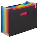 セキセイ アドワン レインボードキュメントスタンド A4ヨコ AD‐2700 ブラック│ファイル ドキュメントファイル