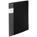 セキセイ アドワン レインボーポケットファイル 16ポケット AD‐2208 ブラック│ファイル ドキュメントファイル