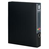セキセイ アクティフV ファイルボックス ワイド56mm幅 ACT-5956 ブラック│ファイル ボックスファイル