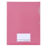 セキセイ シールックワイドフォルダー A4 CLK-2404 ピンク│ファイル クリアホルダー