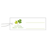 ササガワ タカ印 パック入り 糸付き提札 長型 19−700 クローバー│展示・ディスプレイ用品 プライスカード・値札