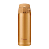 象印(ZOJIRUSHI) ステンレスマグ 0.48L SM-TA48 ハニーゴールド│水筒・魔法瓶 水筒